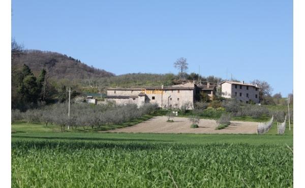 Casale con vista su Assisi