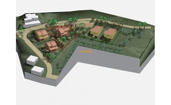 Terreno edificabile urbanizzato in posizione panoramica